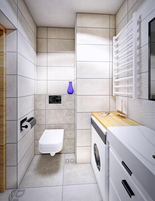 Wnętrze <strong>łazienki</strong> mieszkanie Wrocław